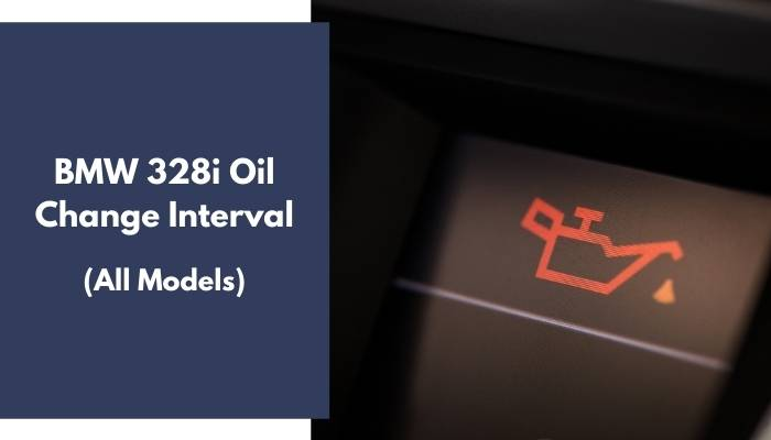 BMW 328i Oil Change Interval