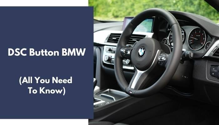 DSC Button BMW