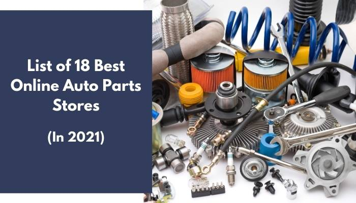 Online Auto Parts Stores