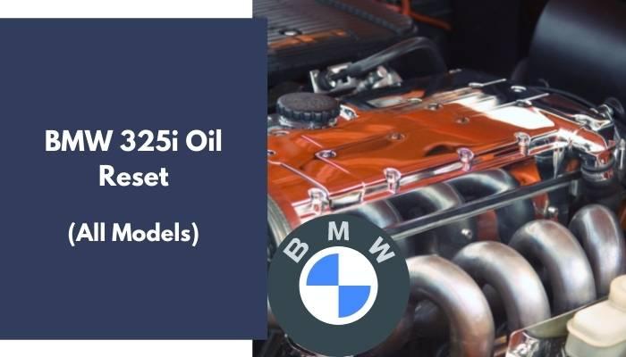 BMW 325i Oil Reset