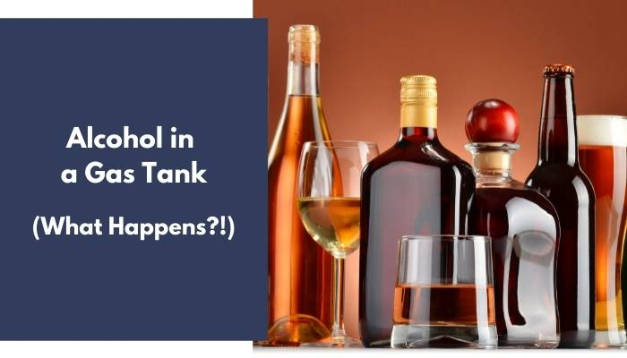 Alcohol in a Gas Tank