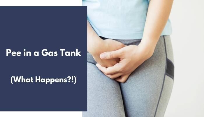 Pee in a Gas Tank