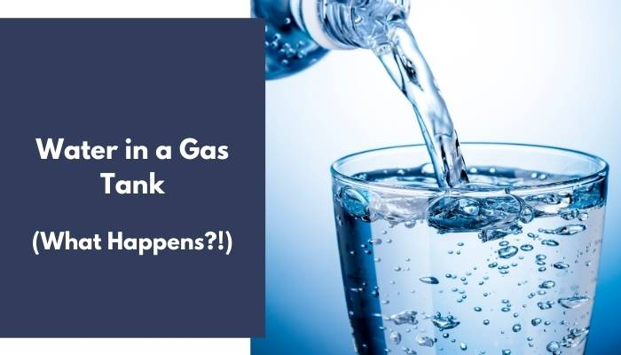 Water in a Gas Tank