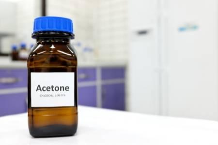 acetone in gas tank