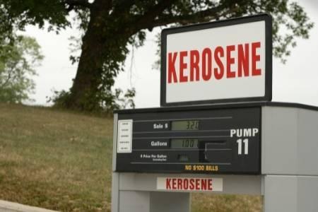 kerosene in gas tank