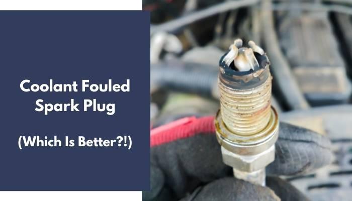 Coolant Fouled Spark Plug