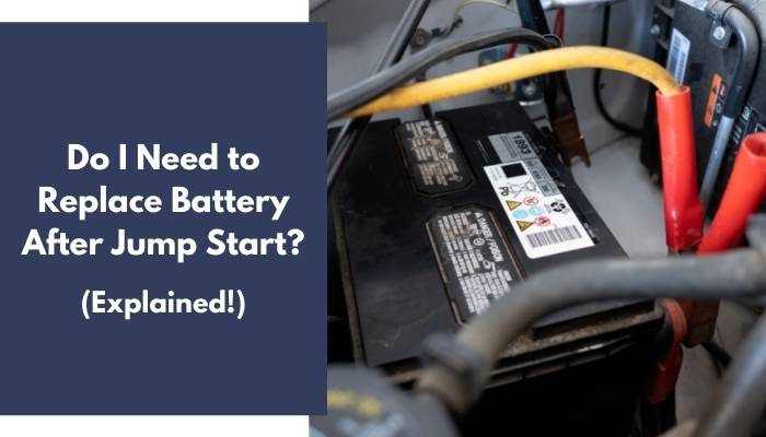Do I Need to Replace Battery After Jump Start